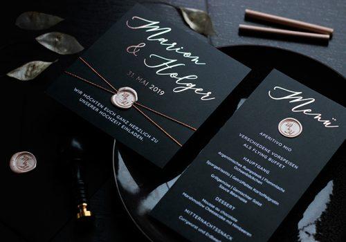 Goldweile_Hochzeit_Einladung_Menuekarte_schwarz_rosegold_01